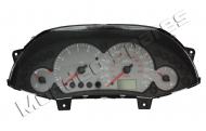 FORD FOCUS PETROL SPEEDO CLOCK CLUSTER DIGITAL TRIP LCD GREY DIALS 1998-2005
